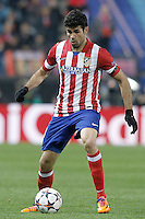 Atletico de Madrid's Diego Costa during Champions League 2013/2014 match.March 11,2014. (ALTERPHOTOS/Acero)