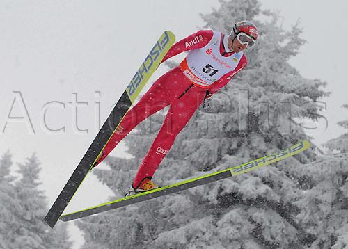 02 01 2010  Nordic Skiing Nordic Combination Oberhof 02 01 2010 Ski jumping Bjoern Kirch iron ger Nordic Combination Ski Skiing men World Cup 2009 2010 Oberhof .