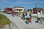 Children's Canada Day Parade, Daniel's Harbour, Newfoundland