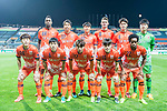 Jeju United FC squad pose for team photo during the AFC Champions League 2017 Group Stage - Group H match between Jeju United FC (KOR) vs Adelaide United (AUS) at the Jeju World Cup Stadium on 11 April 2017 in Jeju, South Korea. Photo by Marcio Rodrigo Machado / Power Sport Images