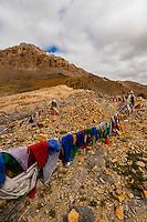 16000 foot Nakeela Pass, Leh-Manali Highway, Ladakh; Jammu and Kashmir State, India.