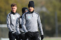 Martin Olsson of Swansea City during the Swansea City Training at The Fairwood Training Ground, in Swansea, Wales, UK. Wednesday 02 November 2018