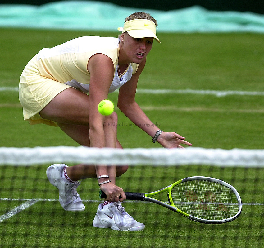 Photo: Richard Lane..DFS Classic Women's International Tennis at Edgebaston. 10/06/2003..Daja Bedanova.
