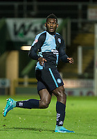 Aaron Pierre of Wycombe Wanderers during the Sky Bet League 2 match between Yeovil Town and Wycombe Wanderers at Huish Park, Yeovil, England on 24 November 2015. Photo by Andy Rowland.