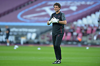 West Ham Goal Keeper Coach Xavi Valero during West Ham United vs Charlton Athletic, Caraboa Cup Football at The London Stadium on 15th September 2020