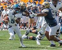 Villanova running back Jarrett McClenton. The Pitt Panthers defeated the Villanova Wildcats 28-7 at Heinz Field, Pittsburgh, Pennsylvania on September 3, 2016.