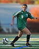 Carle Place No. 9 Nicole O'Connell controls the ball during the Nassau County varsity girls' soccer Class C final against Wheatley at Cold Spring Harbor High School on Tuesday, November 3, 2015.<br /> <br /> James Escher