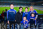 Mike Daly, Gearoid Riordan, Micheal O'Shea, Cian O'Shea, Cliona O'Shea and Mary B O'Shea, all smiles after St Mary's win over Hollymount-Carramore, Mayo, All Ireland Intermediate football final held in Croke Park on Sunday.
