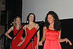 "Liz Clinard, Erin Denman, Jennifer Rias sang ""Boobie Woogie Bugle Boy"" at the 4th Annual Curtains Up for a Cure benefitting Huntington's Disease Society of America on January 31, 2011 at Village Cinema East, New York City, New York. (Photo by Sue Coflin/Max Photos)"