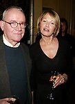 Buck Henry and Ellen Barkin.Attending a New York celebration in anticipation of director Sidney Lumet's Honorary Academy Award, which will be presented at the upcoming 77th Annual Academy Awards at Arabelle at the Plaza Athenee in New York City..February 23, 2005.© Walter McBride /