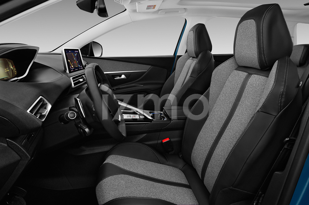 Front seat view of a 2017 Peugeot 5008 GT Line 5 Door SUV front seat car photos