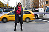 Aspiring Actress Lipica Shah in her adopted hometown of New York City.