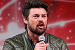Actor Karl Urban speaks during a talk show during the Tokyo Comic Con 2017 at Makuhari Messe International Exhibition Hall on December 1, 2017, Tokyo, Japan. This is the second year that San Diego Comic-Con International held the event in Japan. Tokyo Comic Con runs from December 1 to 3. (Photo by Rodrigo Reyes Marin/AFLO)