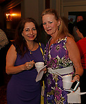Waterbury, CT 042319MK16 (from left) Deborah Fernandez and Michelle Reignier gathered for the during the third annual UNICO meatball contest at the Palace Theatre Tuesday evening.  Francine Nido, national secretary, said this was the third year for the event with eleven local restaurants participating and two-hundred twenty-five pre-paid ticket holders along with many hungry people paying at the door.  Nido stated that the funds raised during this contest will benefit local scholarships and charities.   Michael Kabelka / Republican-American