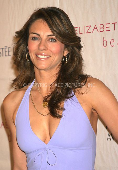 WWW.ACEPIXS.COM . . . . .  ....NEW YORK, APRIL 21, 2005 ....Elizabeth Hurley launches Elizabeth Hurley Beach, a collection of designer swimsuits and tunics, exclusively at Saks Fifth Avenue.....Please byline: ACE005 - ACE PICTURES.   .. *** ***  ..Ace Pictures, Inc:  ..Craig Ashby (212) 243-8787..e-mail: picturedesk@acepixs.com..web: http://www.acepixs.com
