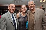 Bill Calderon with Marie and Mr. Joe Sample