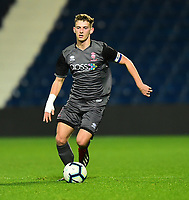 Lincoln City U18's Charlie West<br /> <br /> Photographer Andrew Vaughan/CameraSport<br /> <br /> FA Youth Cup Round Three - West Bromwich Albion U18 v Lincoln City U18 - Tuesday 11th December 2018 - The Hawthorns - West Bromwich<br />  <br /> World Copyright &copy; 2018 CameraSport. All rights reserved. 43 Linden Ave. Countesthorpe. Leicester. England. LE8 5PG - Tel: +44 (0) 116 277 4147 - admin@camerasport.com - www.camerasport.com