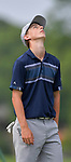 Avery Irwin of the Gateway PGA golf course reacts after missing a putt on the second day of the Metropolitan Amateur Golf Association's 20th Junior Amateur Championship being held at the St. Clair Country Club in Belleville, IL on July 2, 2019. <br /> Tim Vizer/Special to STLhighschoolsports.com