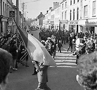 st. patrick's Day Parade, Killarney 1973..Picture by Don MacMonagle