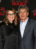 LOS ANGELES, CA - DECEMBER 9: Alan Horn, Cindy Horn, at Premiere Of Disney Pictures And Lucasfilm's 'Star Wars: The Last Jedi' at Shrine Auditorium in Los Angeles, California on December 9, 2017. Credit: Faye Sadou/MediaPunch /NortePhoto.com NORTEPHOTOMEXICO