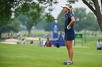 Lexi Thompson (USA) looks over her second shot on 3 during round 4 of the KPMG Women's PGA Championship, Hazeltine National, Chaska, Minnesota, USA. 6/23/2019.<br /> Picture: Golffile | Ken Murray<br /> <br /> <br /> All photo usage must carry mandatory copyright credit (© Golffile | Ken Murray)