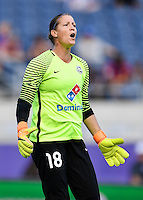 Orlando, FL - Saturday Sept. 24, 2016: Nicole Barnhart during a regular season National Women's Soccer League (NWSL) match between the Orlando Pride and FC Kansas City at Camping World Stadium.