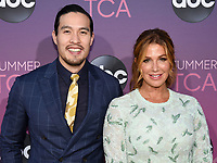 05 August 2019 - West Hollywood, California - Desmond Chiam, Poppy Montgomery. ABC's TCA Summer Press Tour Carpet Event held at Soho House.   <br /> CAP/ADM/BB<br /> ©BB/ADM/Capital Pictures