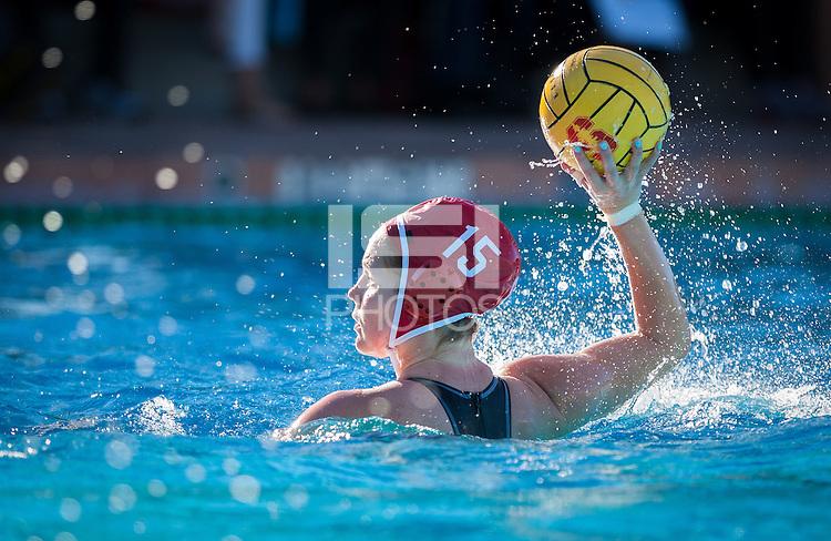 Stanford, CA; Saturday Januray 31, 2015; Women's Water Polo, Stanford vs UC Davis.