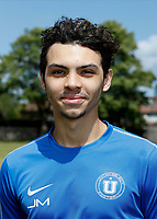 23rd May 2020; United Select HQ, Richings Sports Park, Iver, Bucks, England, United Select HQ exclusive Photo shoot session; Portrait of Jordan Morgan