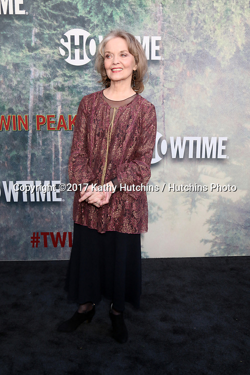 """LOS ANGELES - MAY 19:  Grace Zabriskie at the """"Twin Peaks"""" Premiere Screening at The Theater at Ace Hotel on May 19, 2017 in Los Angeles, CA"""