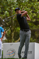 Billy Horschel (USA) watches his tee shot on 16 during round 3 of the World Golf Championships, Mexico, Club De Golf Chapultepec, Mexico City, Mexico. 2/23/2019.<br /> Picture: Golffile | Ken Murray<br /> <br /> <br /> All photo usage must carry mandatory copyright credit (© Golffile | Ken Murray)