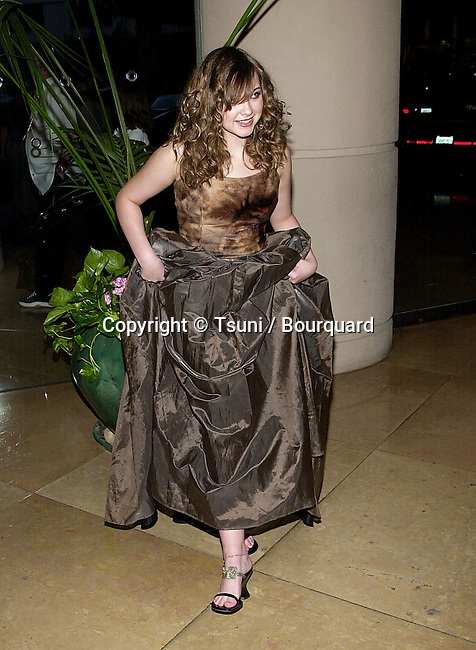 Charlotte Church arriving  at  the Society of Singers, Ella Awards at the Beverly Hilton in Beverly Hills  4/25, 2001  ChurchCharlotte30.JPG