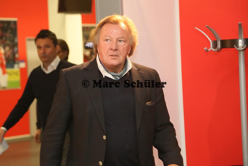 Präsident Harald Strutz (Mainz 05)- 1. FSV Mainz 05 Trainervorstellung Martin Schmidt, Coface Arena