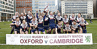 Cambridge v Oxford Pcubed Varsity Rugby League 2017