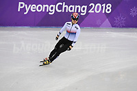 OLYMPIC GAMES: PYEONGCHANG: 17-02-2018, Gangneung Ice Arena, Short Track, 1000m Men, Seo Yi Ra (KOR ), ©photo Martin de Jong