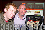 WEBSITE: Pictured at the launch of the MastergeehaFC.com website in the Village Inn, Kilcummin on Friday night were Edmund McSweeney, website designer and Noel Whyte, chairman Kerry schoolboy league.   Copyright Kerry's Eye 2008