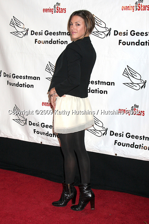 Elizabeth Hendrickson.2009 Evening with the Stars Celebrity Gala for the Desi Geestman Foundation.Gilmore Adobe at Farmer's Market.Los Angeles,  CA.October 10,  2009.©2009 Kathy Hutchins / Hutchins Photo.