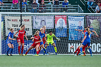 Boston, MA - Sunday September 10, 2017:  during a regular season National Women's Soccer League (NWSL) match between the Boston Breakers and Portland Thorns FC at Jordan Field.