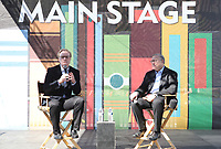13 April 2019 - Los Angeles, California - Lawrence O'Donnell, Norman Pearlstine. 2019 Los Angeles Times Festival Of Books held at University of Southern California. Photo Credit: Faye Sadou/AdMedia