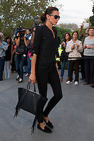 Nieves Alvarez visits San Isidro funeral home following the death of Miguel Boyer in Madrid, Spain. September 29, 2014. (ALTERPHOTOS/Victor Blanco) /nortephoto.com
