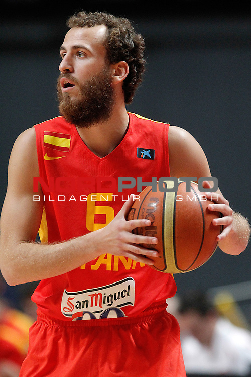 Spain's Sergio Rodriguez during friendly match.August 23,2012. Foto © nph / Acero)