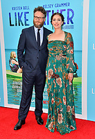 Seth Rogen &amp; Lauren Miller Rogen at the Los Angeles premiere of &quot;Like Father&quot; at the Arclight Theatre, Los Angeles, USA 31 July 2018<br /> Picture: Paul Smith/Featureflash/SilverHub 0208 004 5359 sales@silverhubmedia.com