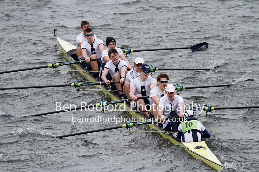 Crew: 10  Royal Shrewsbury Sch  Event: CHAMP eights<br /> <br /> Schools' Head of the River 2017<br /> <br /> To purchase this photo, or to see pricing information for Prints and Downloads, click the blue 'Add to Cart' button at the top-right of the page.
