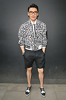 Hu Bing at the LFW (Men's) s/s 2019 Christopher Raeburn catwalk show, BFC Showspace, The Store Studios, The Strand, London, England, UK, on Sunday 10 June 2018.<br /> CAP/CAN<br /> &copy;CAN/Capital Pictures
