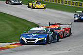 IMSA WeatherTech SportsCar Championship<br /> Continental Tire Road Race Showcase<br /> Road America, Elkhart Lake, WI USA<br /> Sunday 6 August 2017<br /> 93, Acura, Acura NSX, GTD, Andy Lally, Katherine Legge<br /> World Copyright: Richard Dole<br /> LAT Images<br /> ref: Digital Image RD_RA_2017_186