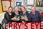 New Year's Eve: Celebrating the new year at Behan's Horseshoe Bar & Restaurant, Listowel were Lesha Carey, Kathleen Kelliher & Margaret & Tommy Moore.