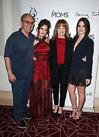 10 July 2019 - West Hollywood, California - Damiano Marano, Laura Marano, Ellen Marano, Vanessa Marano. The Makers of Sylvania host a Mamarazzi event held at The London Hotel. Photo Credit: Faye Sadou/AdMedia