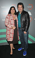 "Gurinder Chadha and Paul Mayeda Berges at the ""Beecham House"" BFI & Radio Times Television Festival screening & Q&A, BFI Southbank, Belvedere Road, London, England, UK, on Saturday 13th April 2019. <br /> CAP/CAN<br /> ©CAN/Capital Pictures"