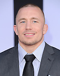 Georges St. Pierre attends The Marvel World Premiere of Captain America; The Winter Soldier held at The El Capitan in Hollywood, California on March 13,2014                                                                               © 2014 Hollywood Press Agency