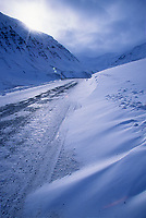 James dalton highway, Atigun Canyon, Brooks Range, Arctic, Alaska